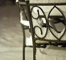 Chair in a Storm by Becky Bender