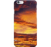 Cloudy sky in the morning iPhone Case/Skin