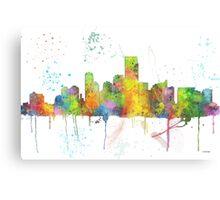 Jersey City, New Jersey Skyline Canvas Print