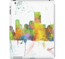 Jersey City, New Jersey Skyline iPad Case/Skin