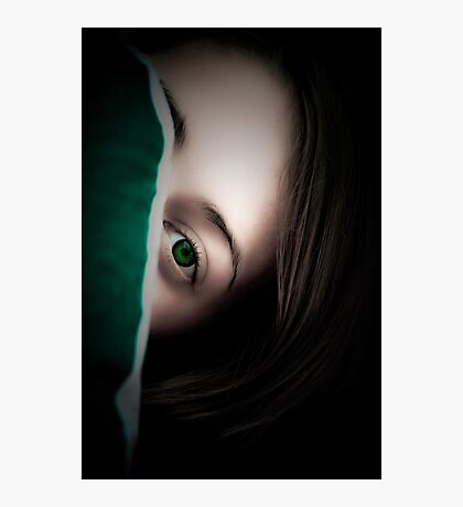 Green Eyed Lady Photographic Print