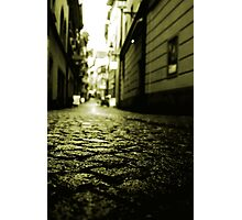 our way to the old city Photographic Print