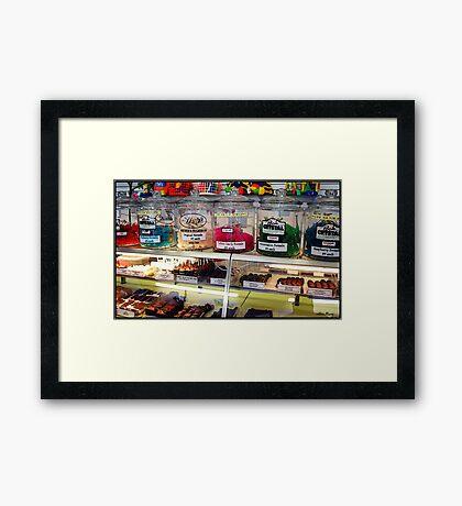 Candy Shoppe Framed Print