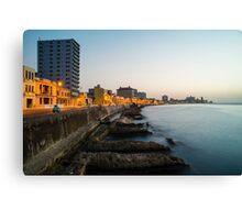 Havana Malecon  Canvas Print