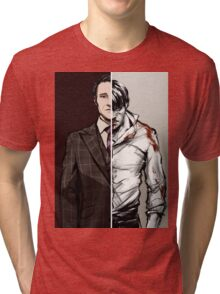 The Tables Are Turning - Hannibal Variant Tri-blend T-Shirt
