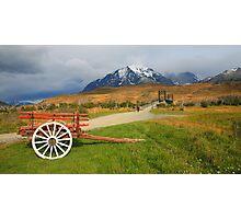 Patagonian Landscape - Torres del Paine National Park Photographic Print
