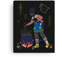 Witch Series: Cauldron Canvas Print