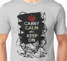 Carry Calm and Keep On Unisex T-Shirt