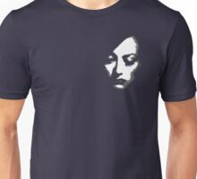 Joan Crawford face Unisex T-Shirt