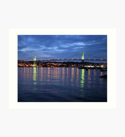 Early Evening-Halifax Art Print