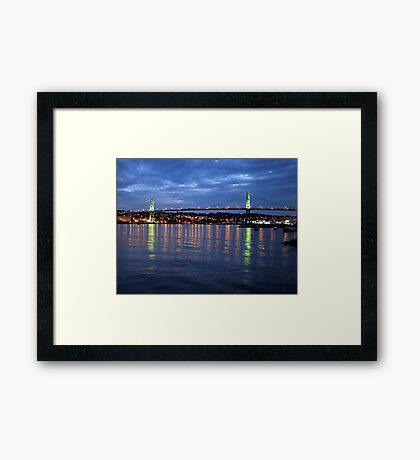 Early Evening-Halifax Framed Print