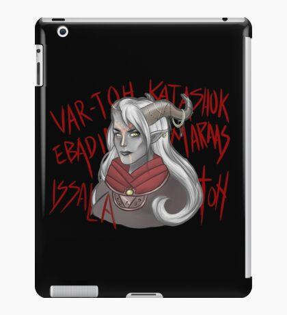 Fem Qunari iPad Case/Skin