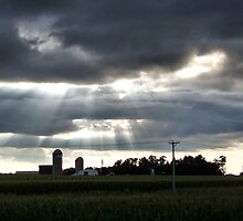 Clouds in Rural Illinois 2 by Crystal Clyburn