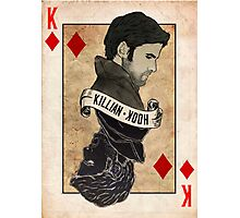 King of Diamonds: Captain Hook Photographic Print