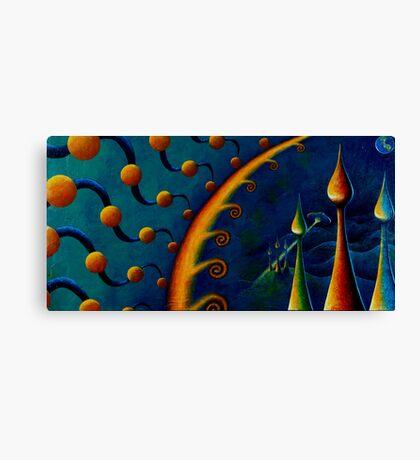 Earth Horizon: 2010 Canvas Print