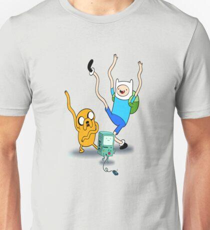Finn, Jake & BMO Dancing Unisex T-Shirt
