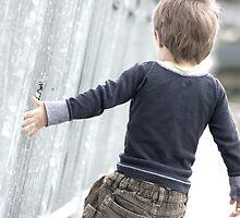 Little boy a wandering. by queenloube