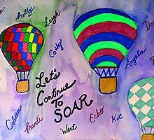 Let's Continue To Soar by Raquel Morales