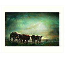 """Off to Greener Pastures ..."" Art Print"