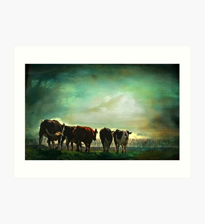 """Off to Greener Pastures ..."" Art Print"