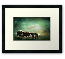 """""""Off to Greener Pastures ..."""" Framed Print"""