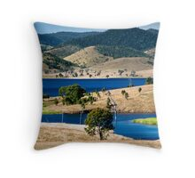 Somerset Dam   Throw Pillow