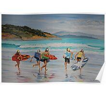 Surf Carnival Poster
