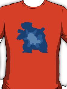 Squirtle, Wartortle + Blatoise Evolution T-Shirt