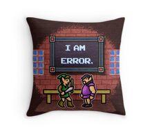 I am Error Throw Pillow