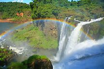 Iguazu Rainbow by naturalnomad
