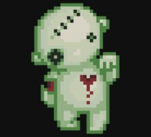 bleeding heart zombie by iamnotadoll