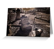 Fall from Grace! Greeting Card