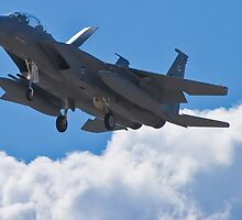 F-15 Strike Eagle coming home by Henry Plumley
