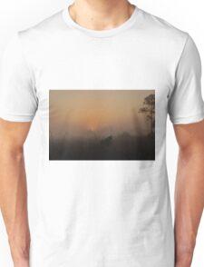 Foggy Sunrise in the Everglades Unisex T-Shirt