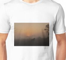 Foggy Sunrise in the Everglades Unisex T-Shirt