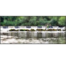 Sprotbrough Falls - Tilt Shift Photographic Print