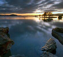 Lake Rotorua, Sunrise by Michael Treloar