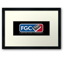 Fighting Game Community Member Framed Print