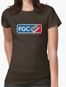 Fighting Game Community Member Womens Fitted T-Shirt