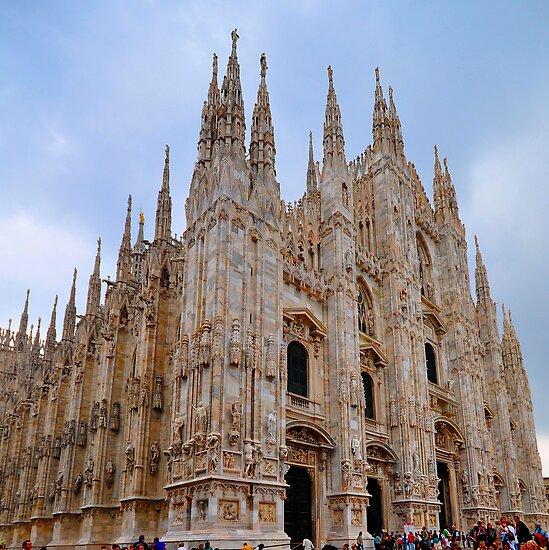 """Temples - """"Duomo di Milano (IT)"""" - III by Denis Molodkin"""