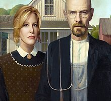 American Gothic Parody by Paul Gitto