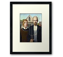 American Gothic Parody Framed Print