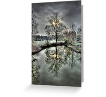 The Shivering Tree  Greeting Card