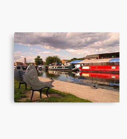 Thorne Canal Canvas Print