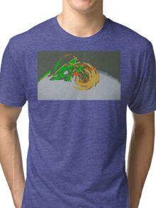"""Minimalistic Pokemon - Mega Rayquaza "" by limitedskins.com Tri-blend T-Shirt"