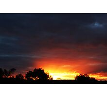 A Frankland River Sunset Photographic Print