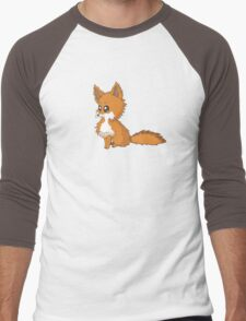 Fox Cub Men's Baseball ¾ T-Shirt