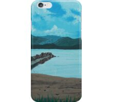 Angry Beach Painted iPhone Case/Skin