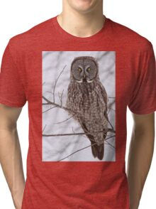 A ghostly gaze of the future Tri-blend T-Shirt