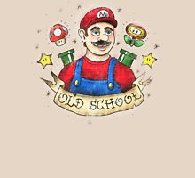 Old School Mario Tattoo Unisex T-Shirt